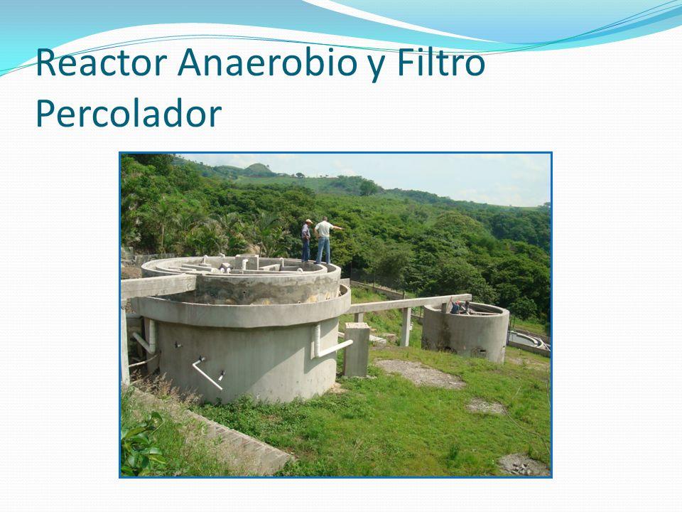 Reactor Anaerobio y Filtro Percolador