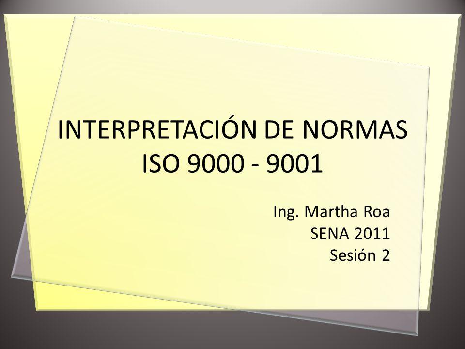 NORMA ISO 9000:2005 TERMINOLOGÍA Calidad, Requisito, Clase, Satisfacción del Cliente, Capacidad, Competencia 3.1 CALIDAD Sistema, Sistema de Gestión, Sistema de Gestión de la Calidad, Política de Calidad, Objetivo de Calidad, Gestión, Alta Dirección, Gestión de la Calidad, Planificación de la Calidad, Control de la Calidad, Aseguramiento de la Calidad, Mejora de la Calidad, Mejora Continua, Eficacia, Eficiencia 3.2 GESTIÓN Organización, Estructura de la Organización, Infraestructura, Ambiente de Trabajo, Cliente, Proveedor, Parte Interesada, Contrato 3.3 ORGANIZACIÓN Proceso, Producto, Proyecto, Diseño y Desarrollo, Procedimiento 3.4 PROCESO Y PRODUCTO Característica, Característica de la Calidad, Seguridad de funcionamiento, Trazabilidad 3.5 CARACTERÍSTICAS