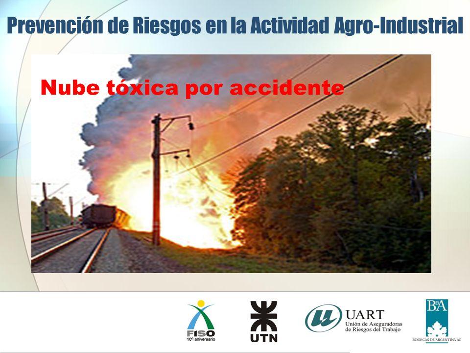 Prevención de Riesgos en la Actividad Agro-Industrial Nube tóxica por accidente