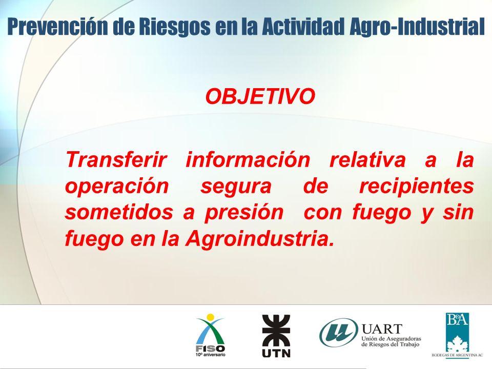 Prevención de Riesgos en la Actividad Agro-Industrial BLEVE en un accidente