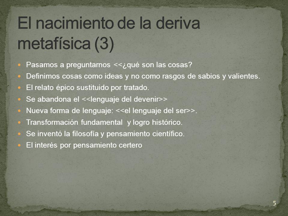 Predominancia del > sustituida por el >.