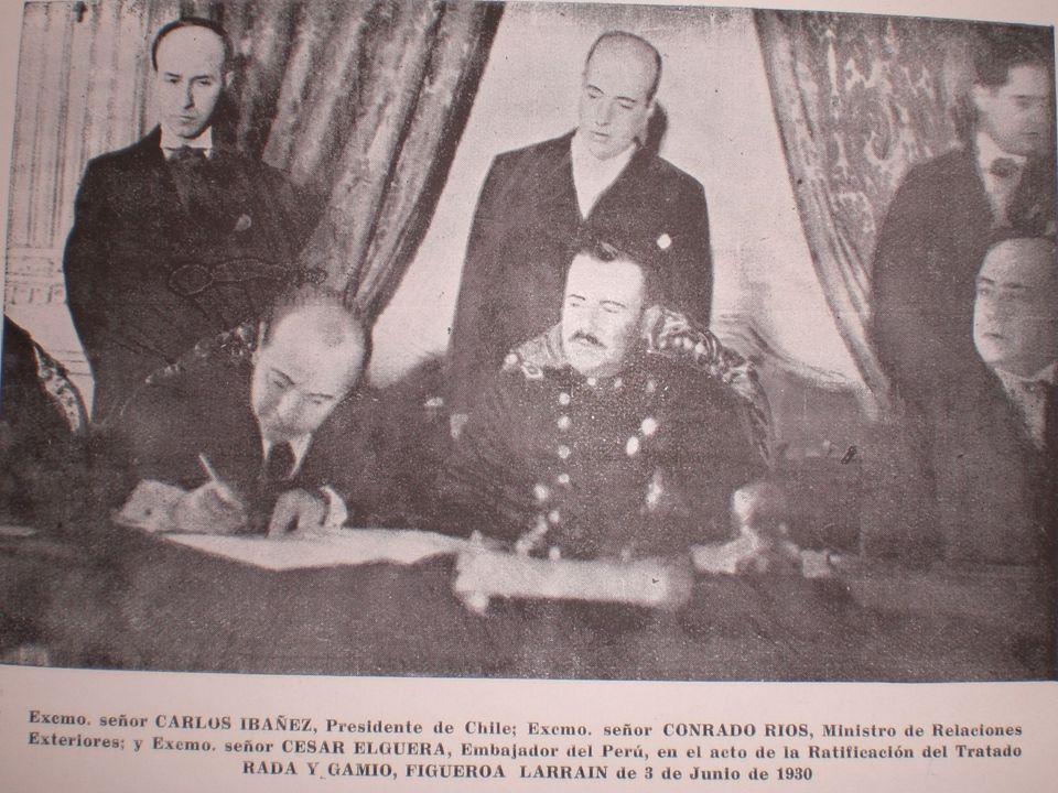 Comisión Mixta de Límites Perú- Chile La Comisión de 1930 tenía por objeto ...