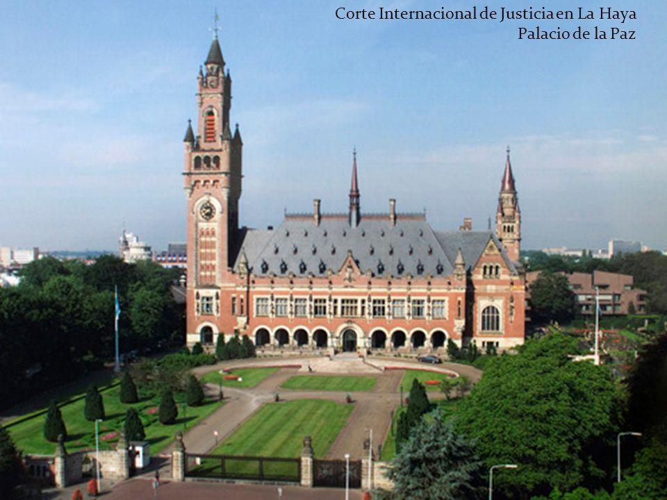Corte Internacional de Justicia en La Haya Palacio de la Paz