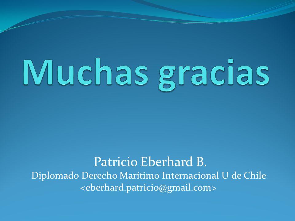 Patricio Eberhard B. Diplomado Derecho Marítimo Internacional U de Chile