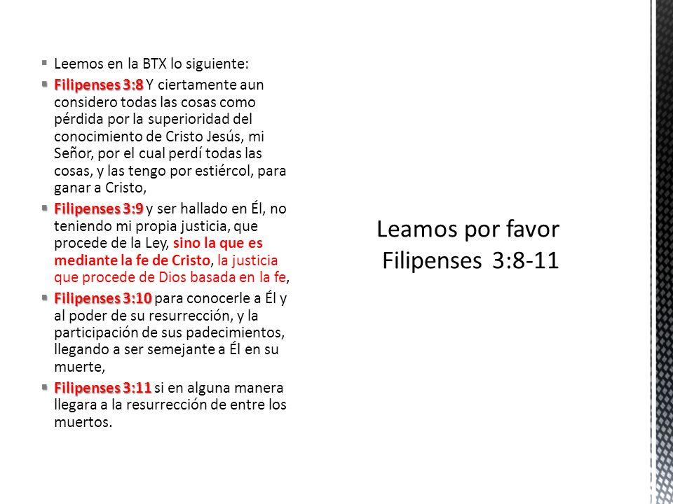 La porción bíblica de esta lección se inicia repitiendo y recalcando lo que el apóstol ya expresó en el versículo anterior (v.