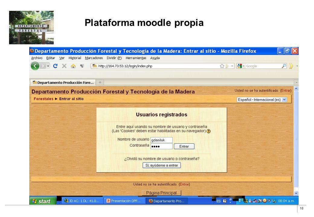 18 Plataforma moodle propia