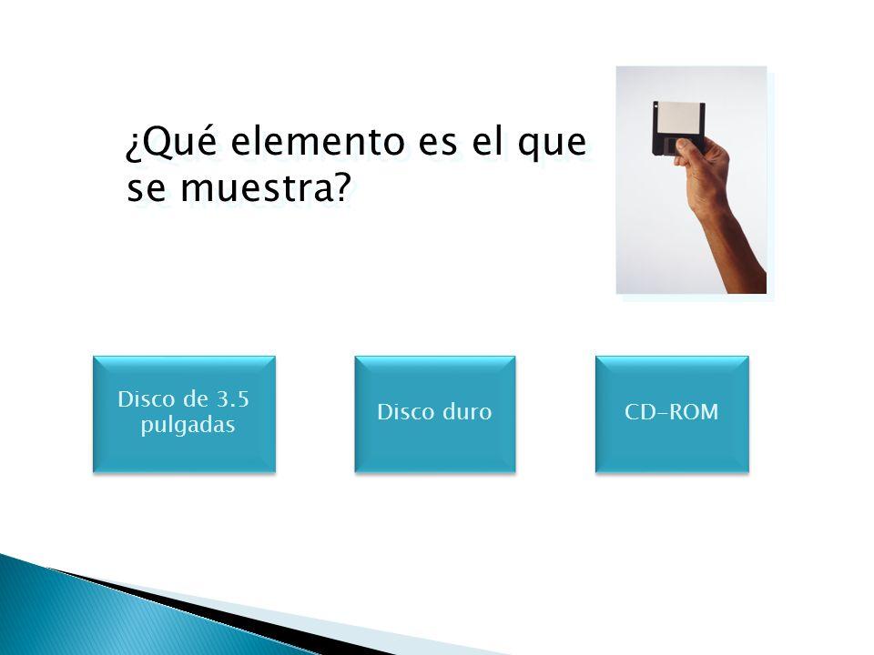 ¿Cuál de los siguientes elementos tiene un acceso más rápido en el proceso de datos.