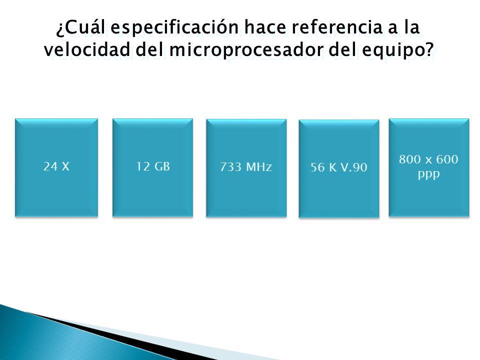 La velocidad del reloj interno de un microprocesador se mide en Megahertz (Mhz) y/o Gigahertz (Ghz), y determina la velocidad en que el CPU procesa las instrucciones.
