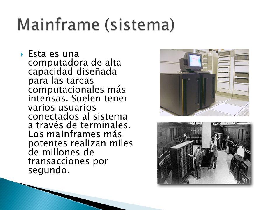 TIPOS DE COMPUTADORAS Computadora Personal (PC) Laptop Macintosh