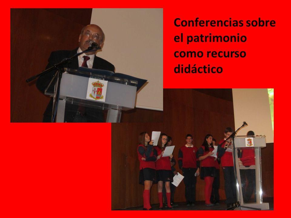 Conferencias sobre el patrimonio como recurso didáctico