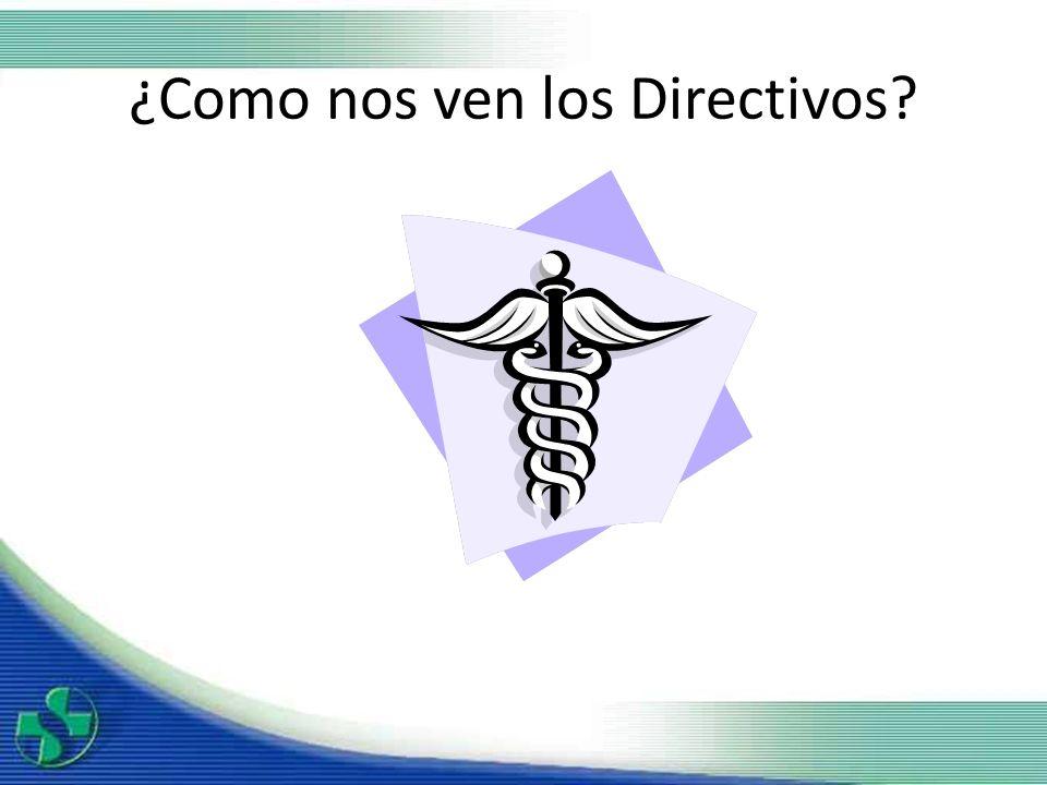 ¿Como nos ven los Directivos?