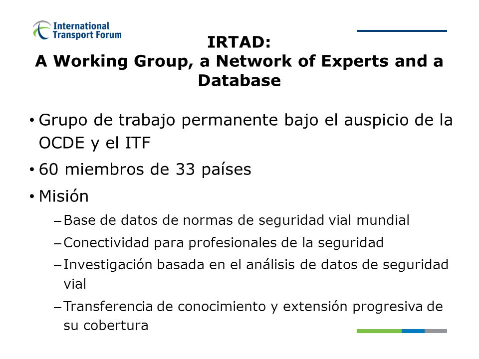 IRTAD MEMBER COUNTRIES
