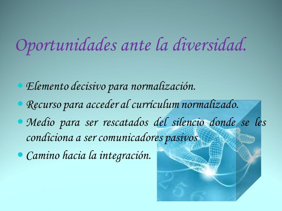 Las Tecnologías como instrumento.Pedagógico (reeducación y refuerzo) y de rehabilitación.