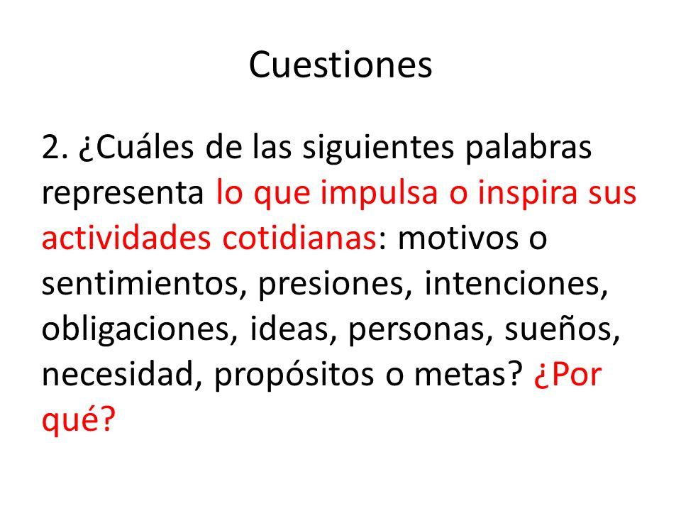 Cuestiones 2.