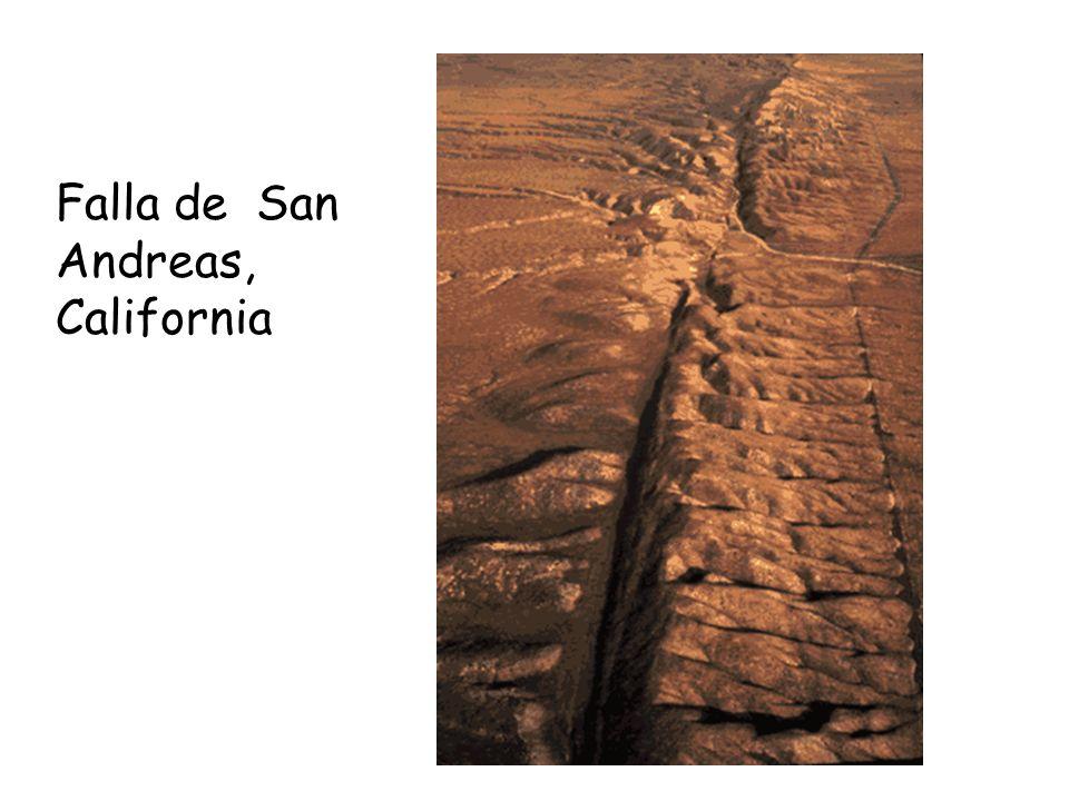 Falla de San Andreas, California
