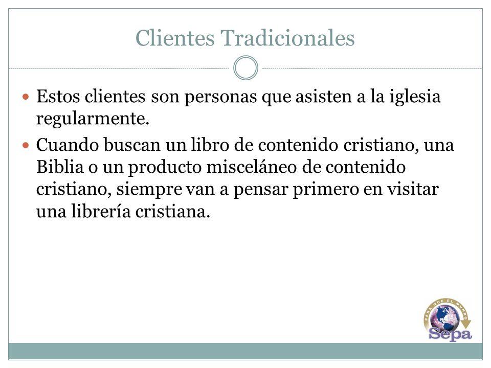Clientes Tradicionales Obstáculos para alcanzar a más clientes tradicionales: Competencia en el mercado.