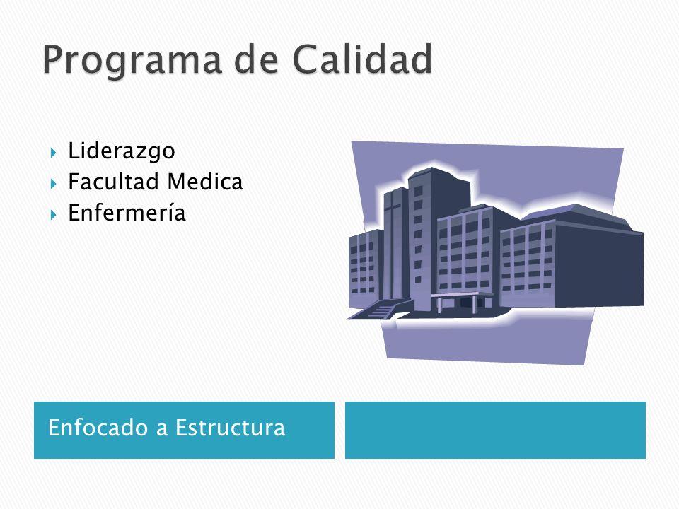 Enfocado a Estructura Liderazgo Facultad Medica Enfermería