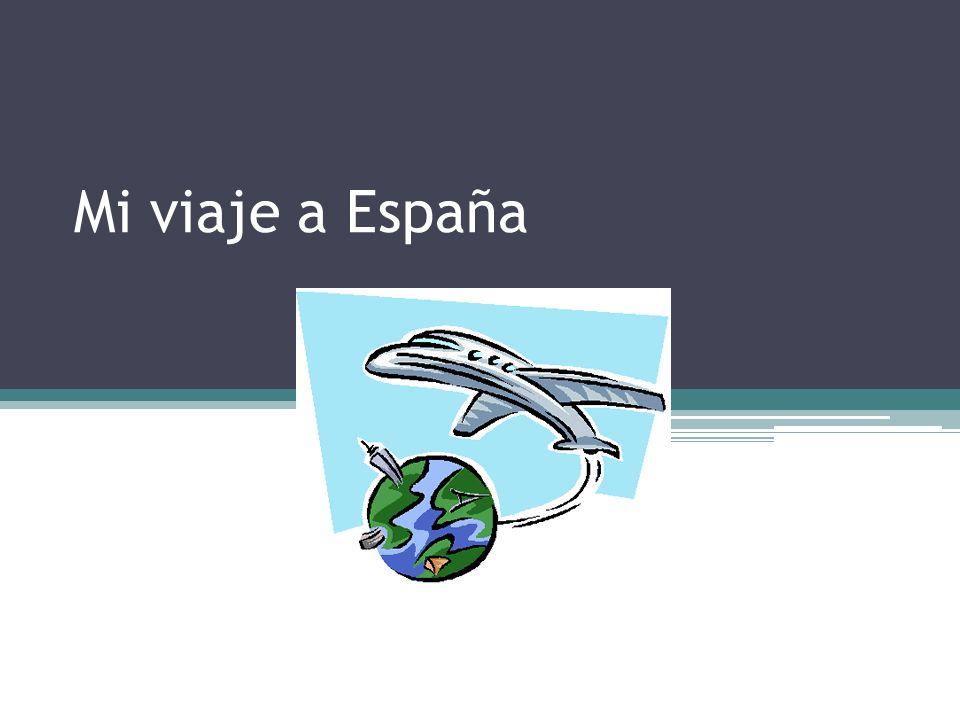 Este verano yo voy a España.¡Estoy muy emocionada.