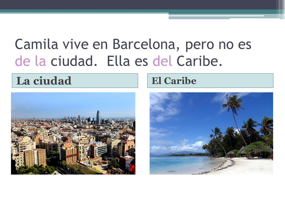 Mientras estoy en España quiero ir a la playa. También voy a pasar al museo. La playaEl museo