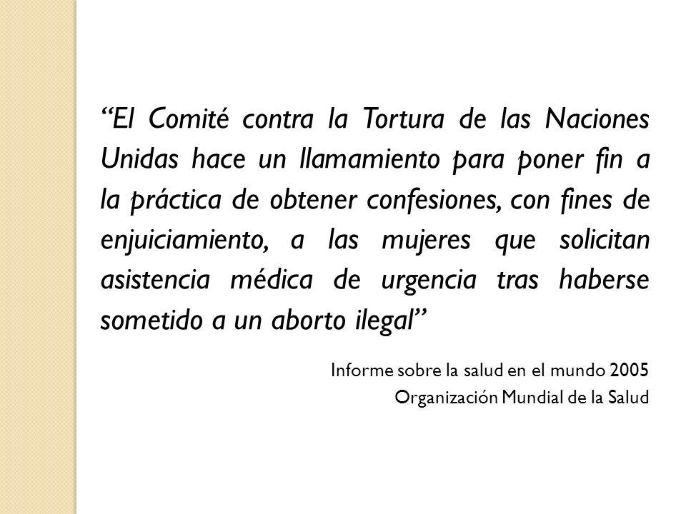 El Comité contra la Tortura de las Naciones Unidas hace un llamamiento para poner fin a la práctica de obtener confesiones, con fines de enjuiciamient