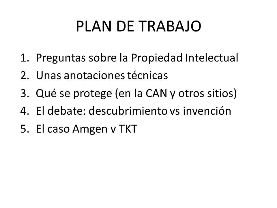 ¿TKT cae en las reivindicaciones de Amgen.