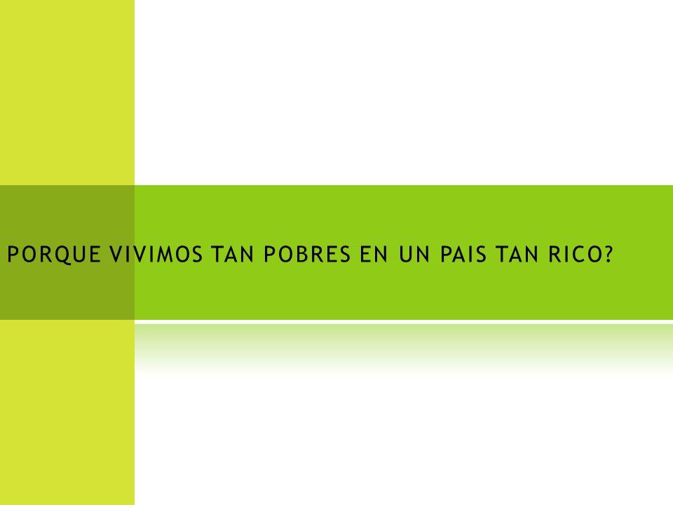 P IRÁMIDE D EMOGRÁFICA D ESEADA RICOS C MEDIA POBRES EXTREMA POBREZA Sociedad hondureña
