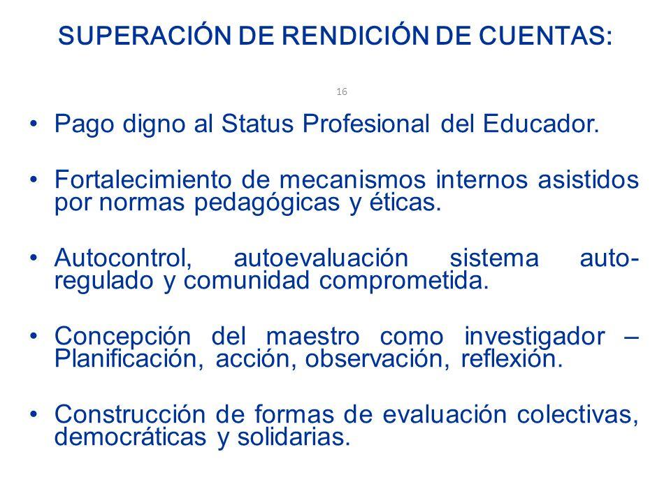 HACÍA PRÁCTICAS EVALUATIVAS DE DESARROLLO PROFESIONAL Desarrollo de la Evaluación cualitativa, descripción interpretación, valoración.