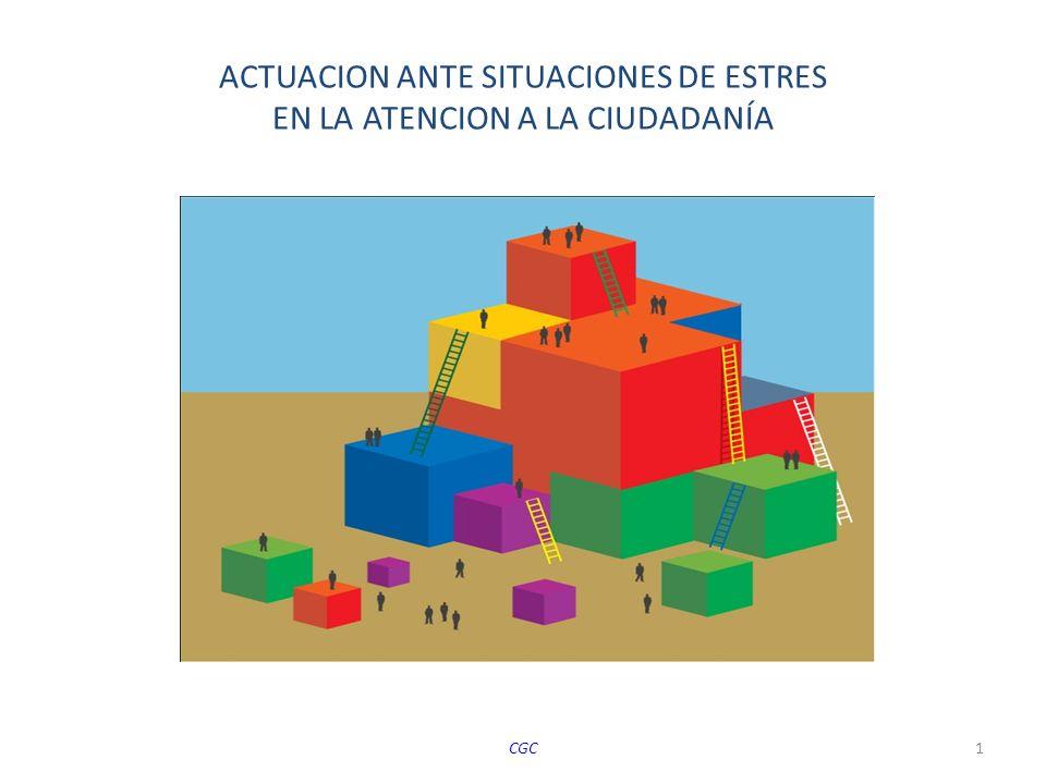 ACTUACION ANTE SITUACIONES DE ESTRES EN LA ATENCION A LA CIUDADANÍA CGC1