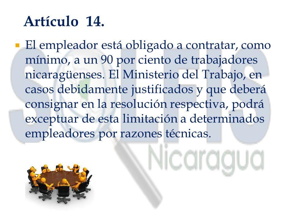 Artículo 14.