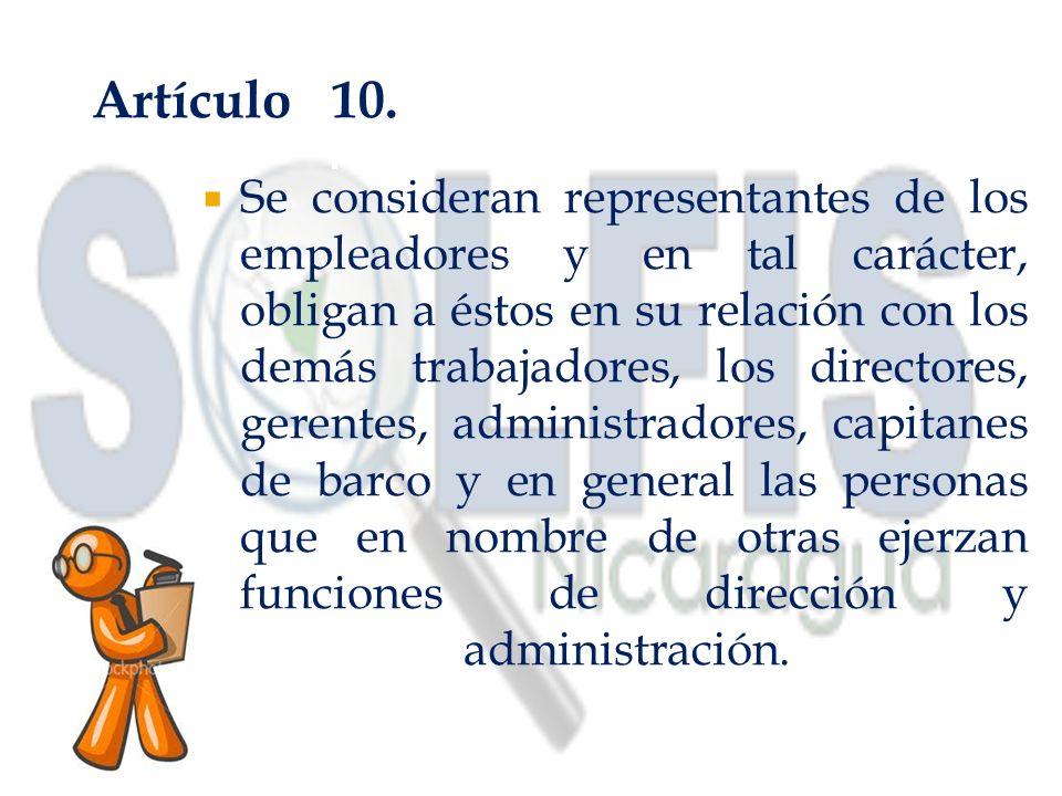 Artículo 10.