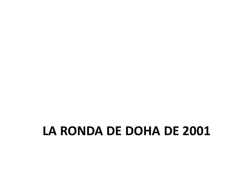LA RONDA DE DOHA DE 2001