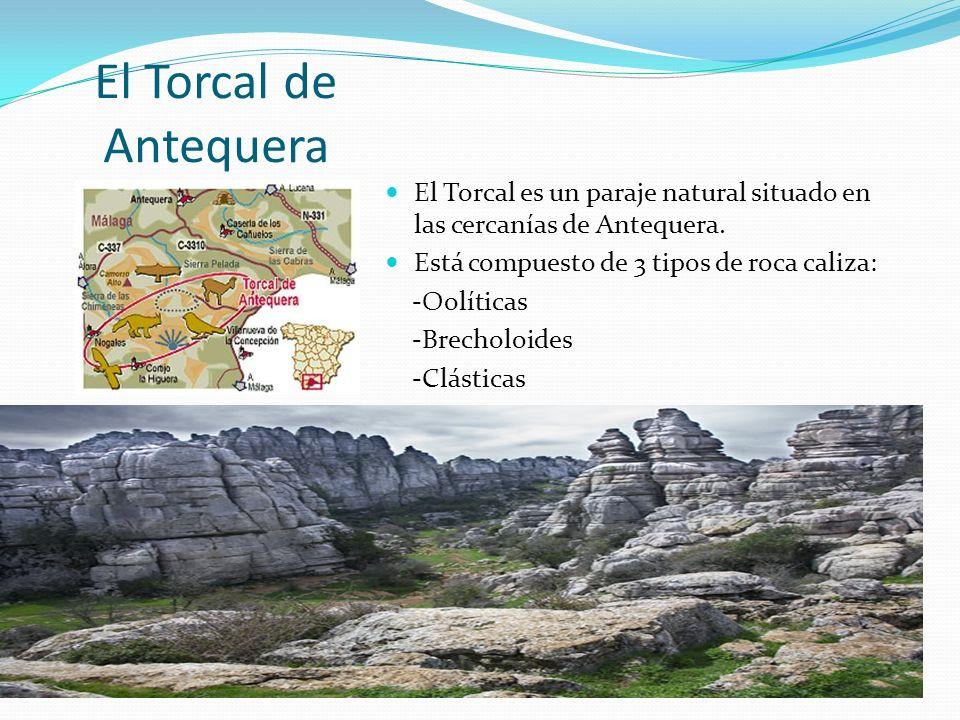El Torcal de Antequera El Torcal es un paraje natural situado en las cercanías de Antequera.
