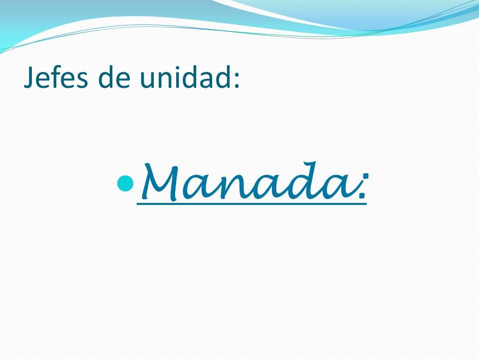 Jefes de unidad: Manada: