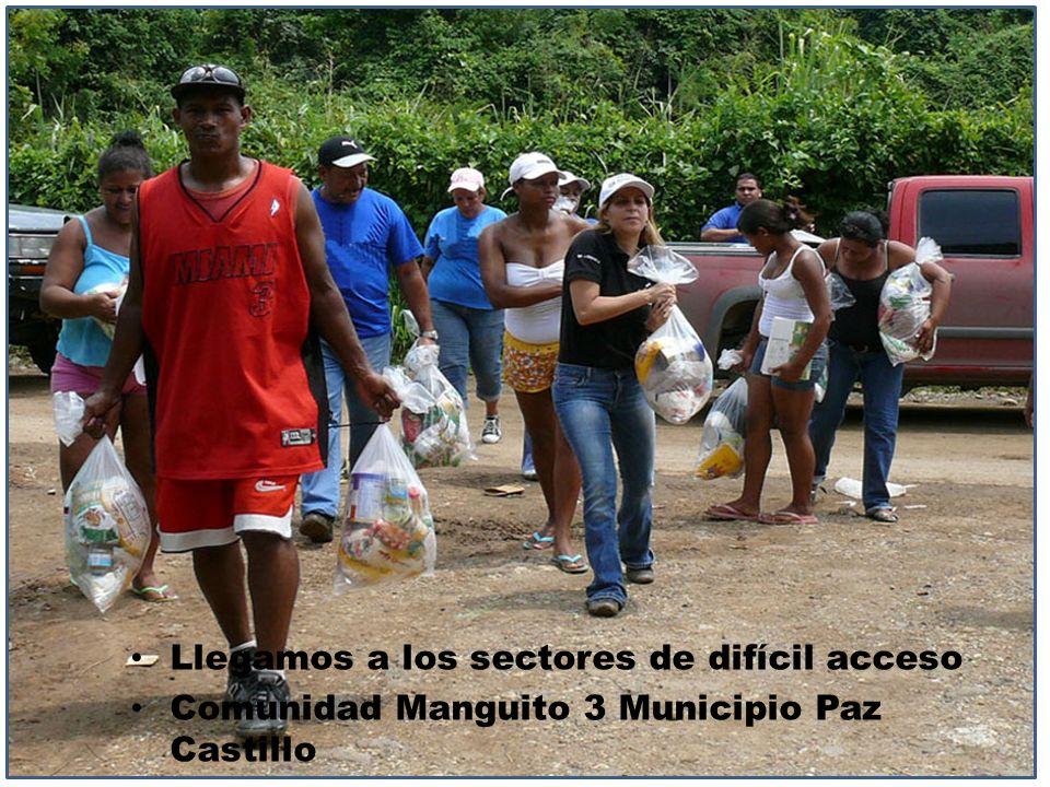 Llegamos a los sectores de difícil acceso Comunidad Manguito 3 Municipio Paz Castillo