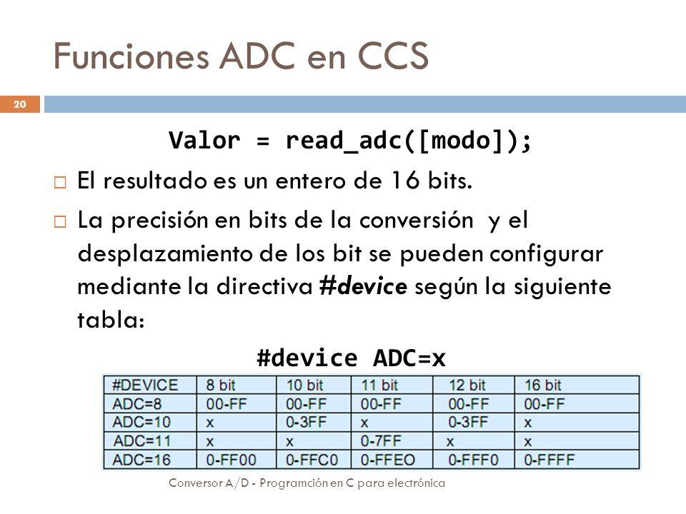 Ejemplo Conversor A/D - Programción en C para electrónica 21