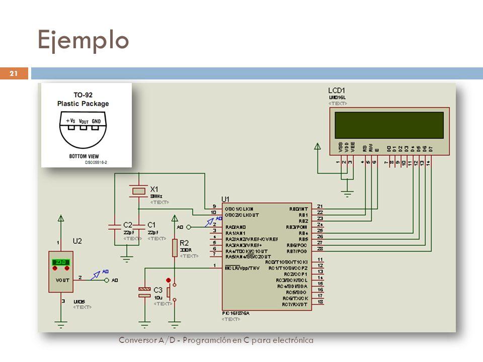 Ejemplo Conversor A/D - Programción en C para electrónica 22