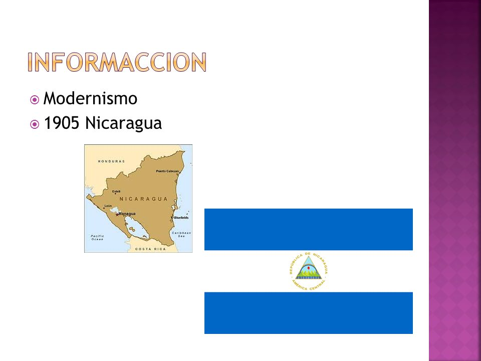 Modernismo 1905 Nicaragua