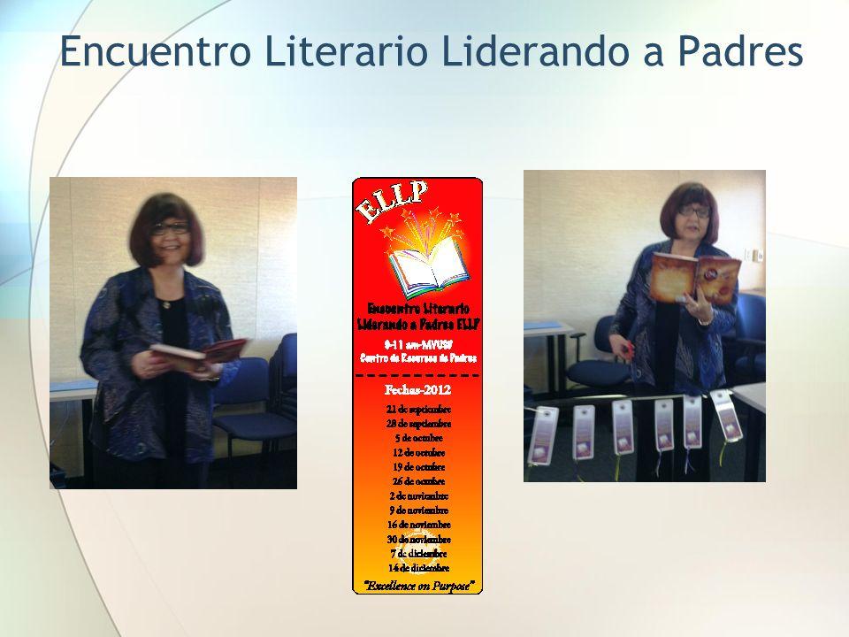 Encuentro Literario Liderando a Padres