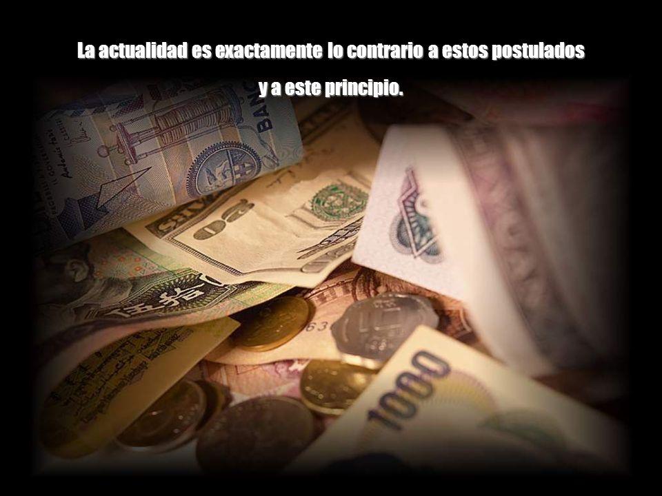 La economía es un subsistema de un sistema mayor y finito que es la biosfera y por lo tanto el crecimiento permanente es imposible. Ningún proceso o i