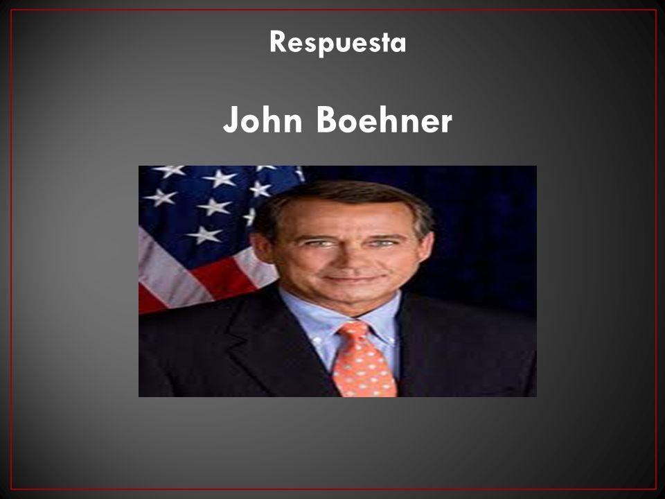 Respuesta John Boehner