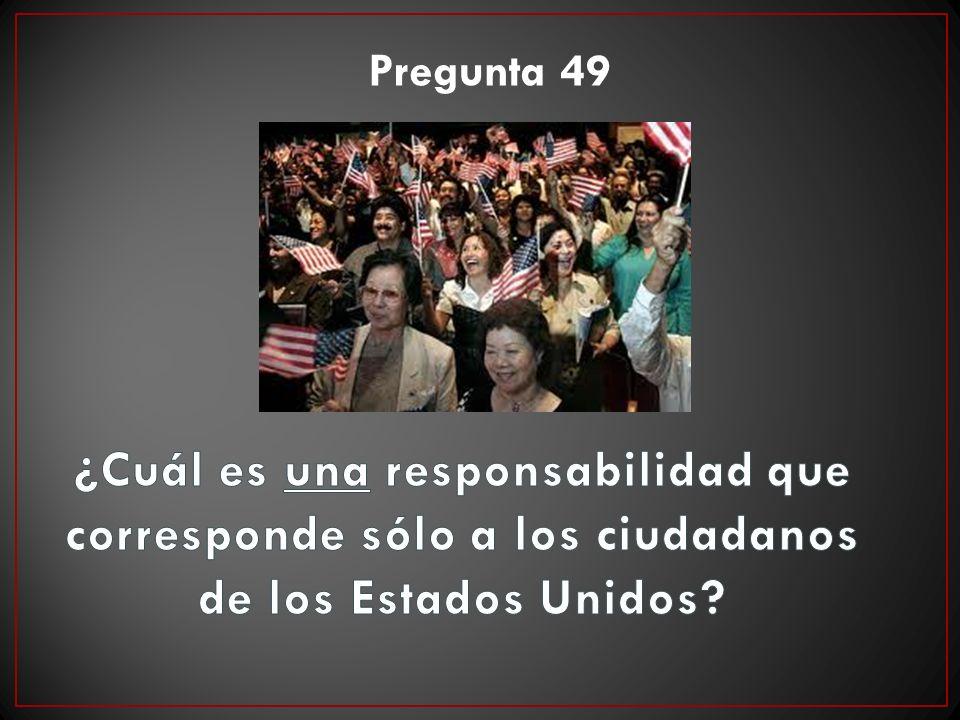 Pregunta 49