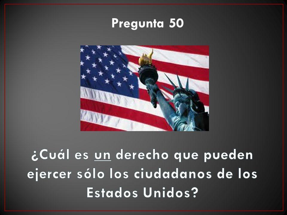 Pregunta 50