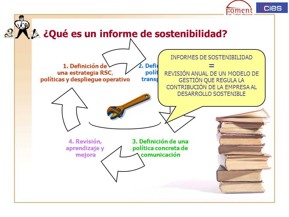 Beneficios de los informes de sostenibilidad Facilita la obtención de datos.