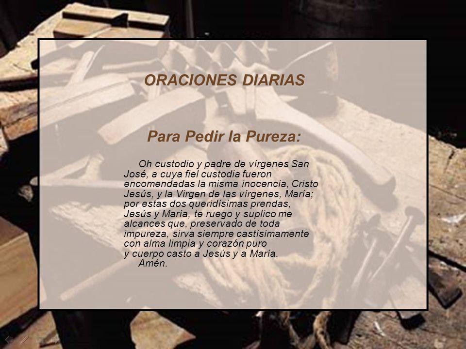 PENSAMIENTOS E INVOCACIONES A SAN JOSÉ PARA EL MES DE MARZO (Por P. Orides Ballardín. Prov.)