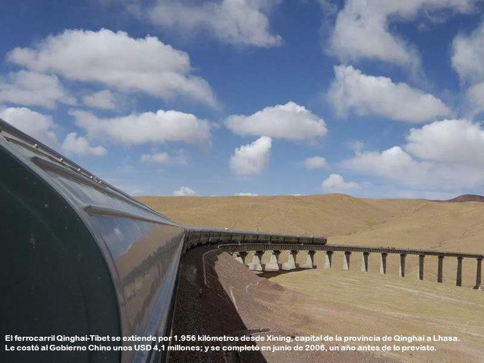 Por motivos de protección del medio ambiente, todos los trenes que entran a la provincia china de Tíbet, están equipados con compactadores de basura e