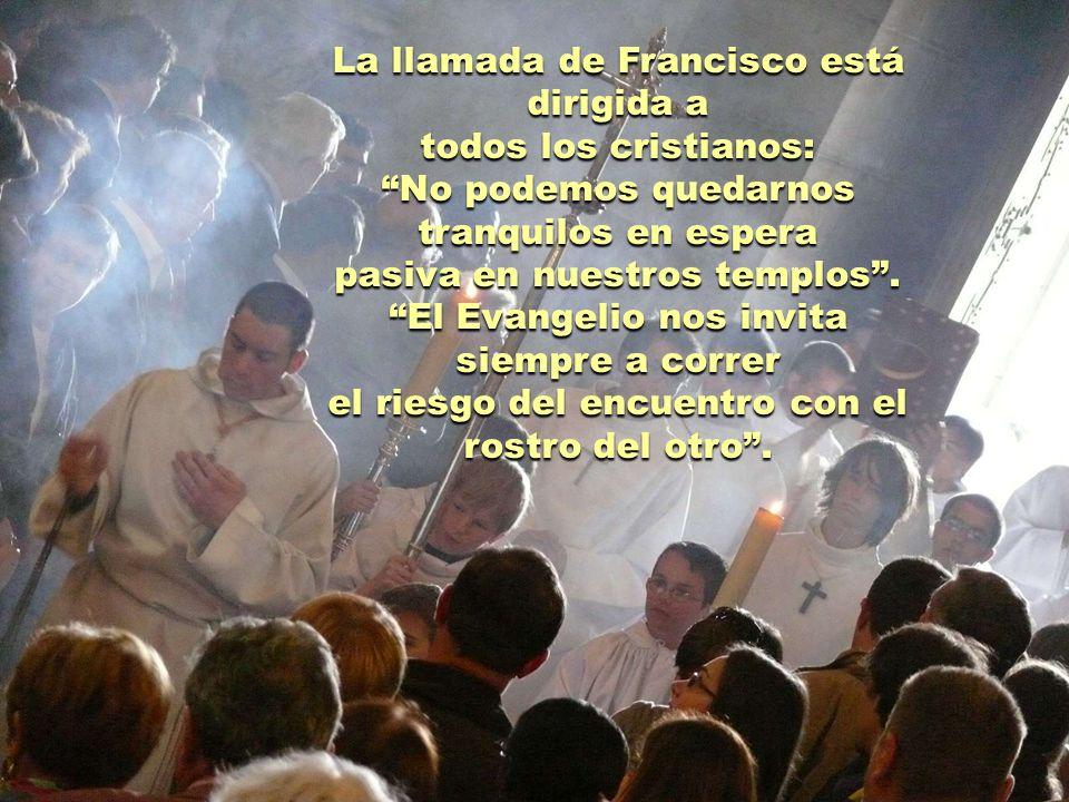 El Papa insiste una y otra vez: Prefiero una Iglesia accidentada, herida y manchada por salir a la calle, que una Iglesia enferma por el encierro y la