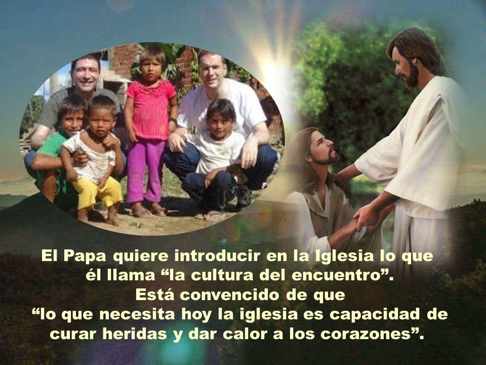 La llamada de Francisco está dirigida a todos los cristianos: No podemos quedarnos tranquilos en espera pasiva en nuestros templos. El Evangelio nos i