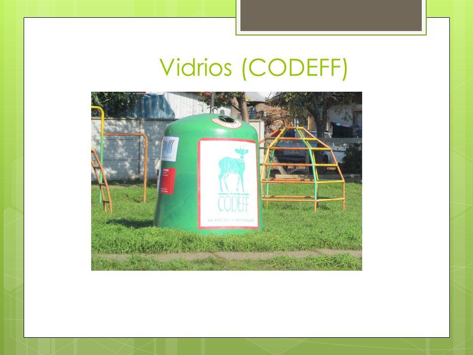 Vidrios (CODEFF)
