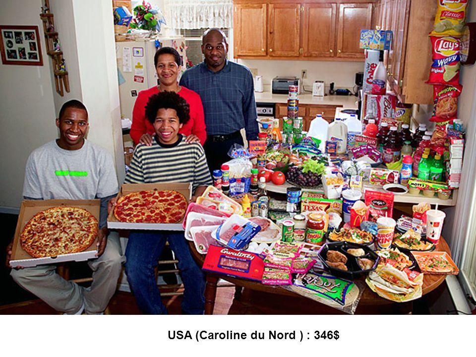USA (Caroline du Nord ) : 346$
