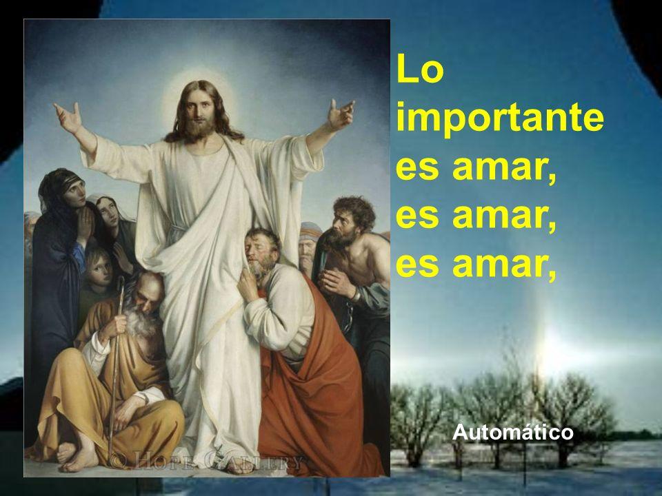 Jesús le responde, y citando en parte al Antiguo Testamento,